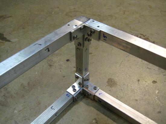 Изделия из алюминиевого профиль своими руками 18
