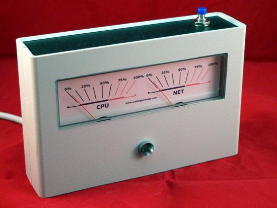 Индикатор, собранный на основе микроконтроллеров