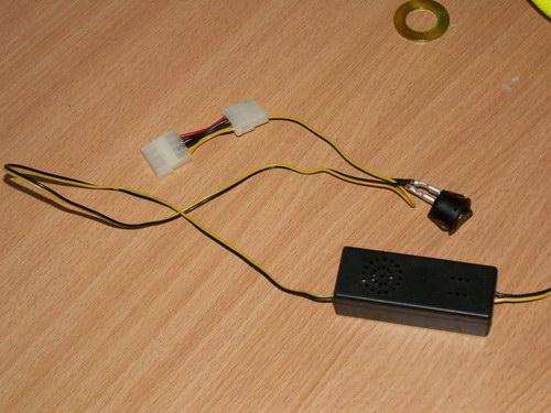 Инвертор со всеми подключенными кабелями