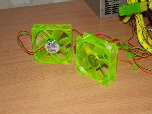 Вентиляторы без подсветки