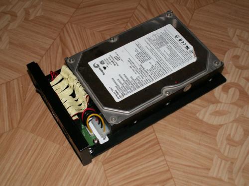 Подключенный жесткий диск