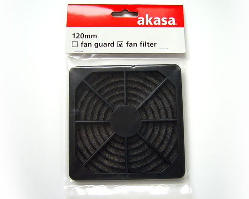 Akasa Fan Filter for 120 mm case fan
