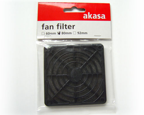 Akasa Fan Filter for 80 mm case fan