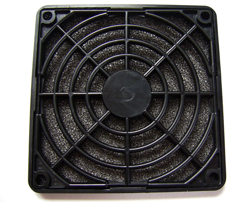 Back side of Akasa Fan Filter