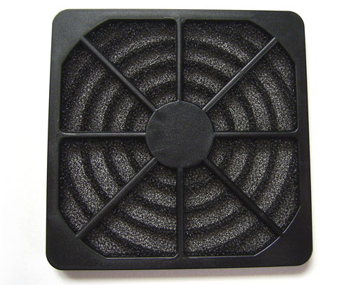 Front side of Akasa Fan Filter