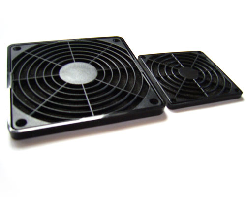 Basic view of two Akasa Fan Filters