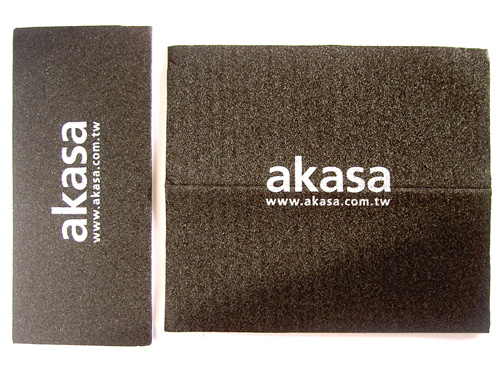 Akasa PAX.mate sound dampening mats of different sizes