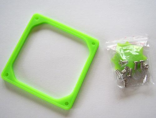 Вибропоглотитель для 80 мм вентилятора, а также крепежные элементы