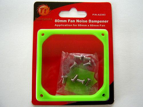 Thermaltake Fan Noise Dampener для 80 мм вентиляторов в упаковке