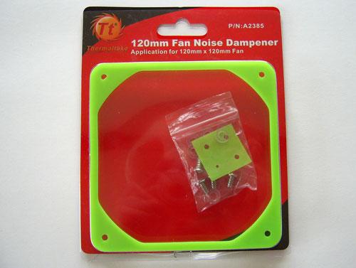Thermaltake Fan Noise Dampener для 120 мм вентиляторов в упаковке
