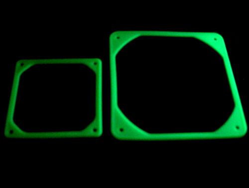 Свечение вибропоглотителей в лучах ультрафиолета