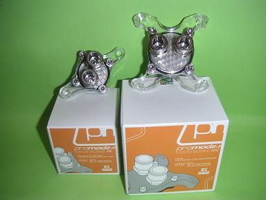 Собранные водоблоки ProModz на своих упаковках