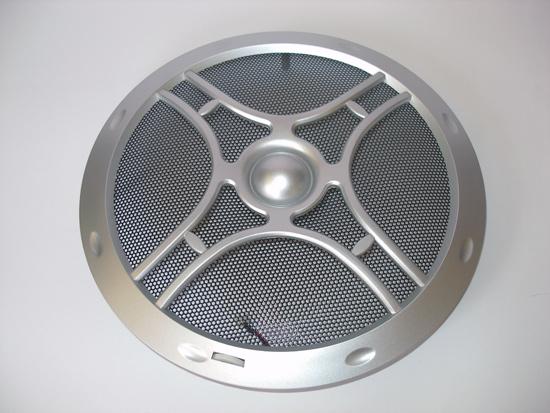 Защитный гриль вентилятора Globefan 220mm Blue LED