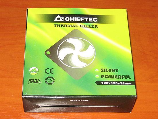120 мм вентилятор марки Chieftec