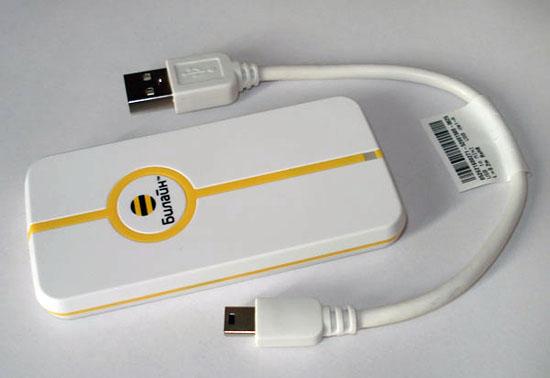 3G-модем ZTE MF662 с подключением в USB