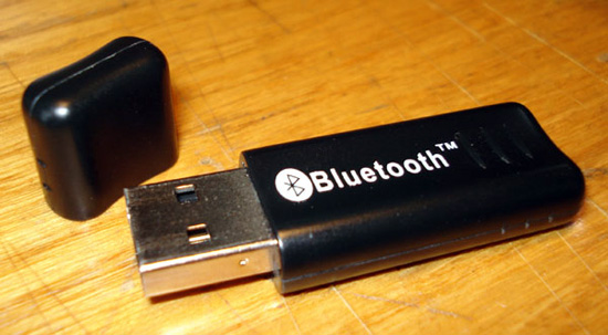 Самый обычный Bluetooth адаптер с подключением в USB