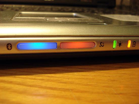 Кнопка управления Bluetooth