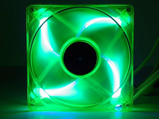 Вентилятор со светодиодной подсветки