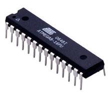 Общий вид микроконтроллера ATmega8
