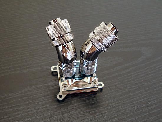 Использование поворотных удлинителей для выноса креплений фитингов