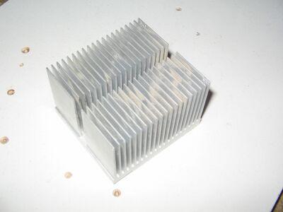 Радиатор от старого процессорного кулера