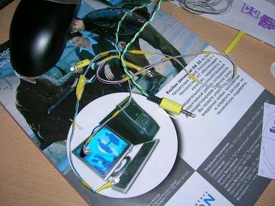 Светодиоды с подключением к питанию компьютера