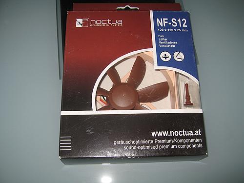 Вентилятор Noctua NF-S12-800 в упаковке