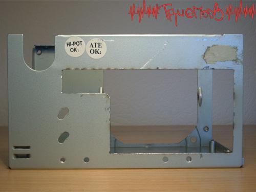 Вентиляционная решетка вырезана