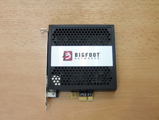 Общий вид сетевой карты Bigfoot Networks Killer 2100
