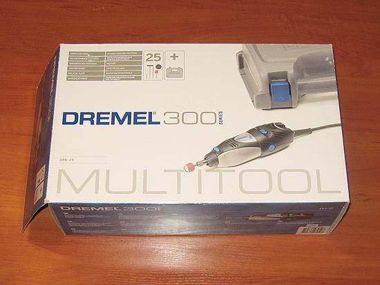 Вид спереди на упаковку DREMEL 300 Series (300-25)