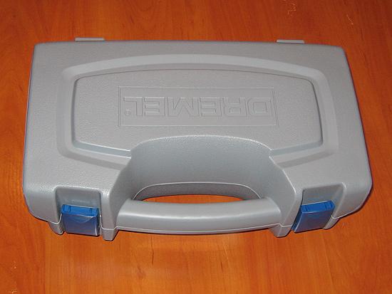Пластиковый кейс для хранения и переноски дремеля