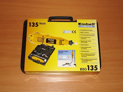 Дремель Einhell BSG135 в упаковке