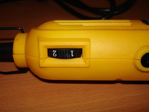 Колесо-регулятор для настройки скорости инструмента