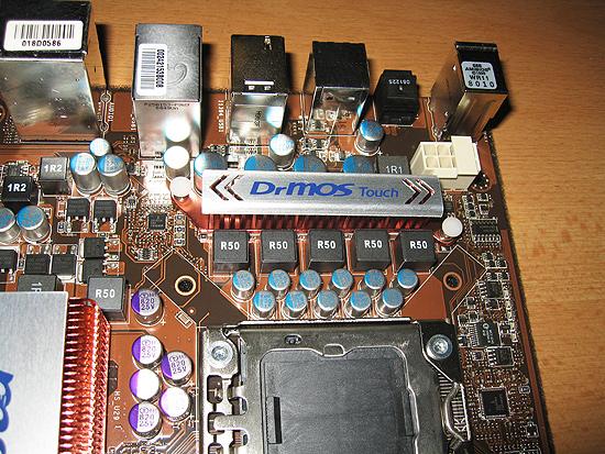 Силовые транзисторы закрыты радиатором