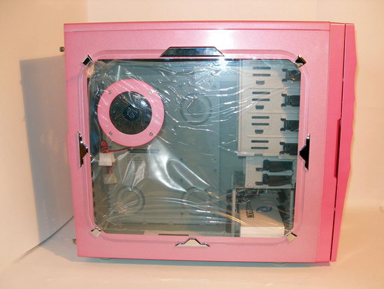 Прозрачное окно закрыто защитной пленкой
