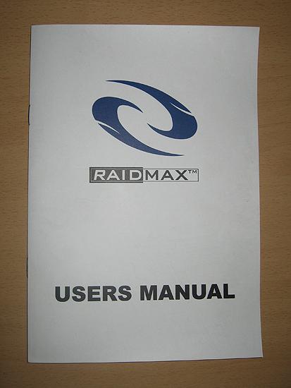 Инструкция к корпусу Raidmax Sagitta