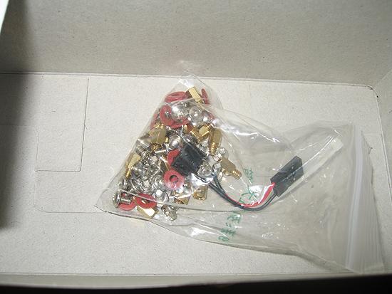 Прозрачный пакет с дополнительными элементами для сборки корпуса
