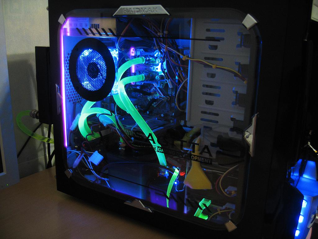 Как сделать компьютер с подсветкой 672