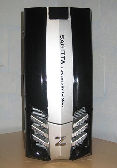 Фронтальная часть корпуса Raidmax Sagitta