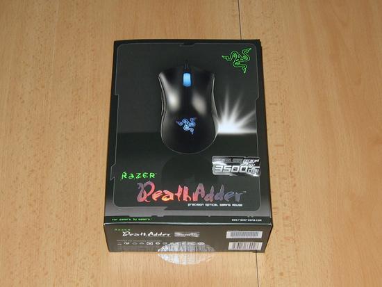 Общий вид коробки с мышкой DeathAdder 3500