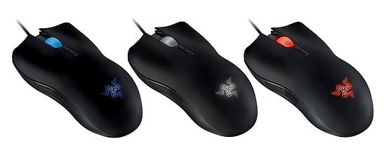 Мышь Razer Lachesis в трех цветовых вариантах