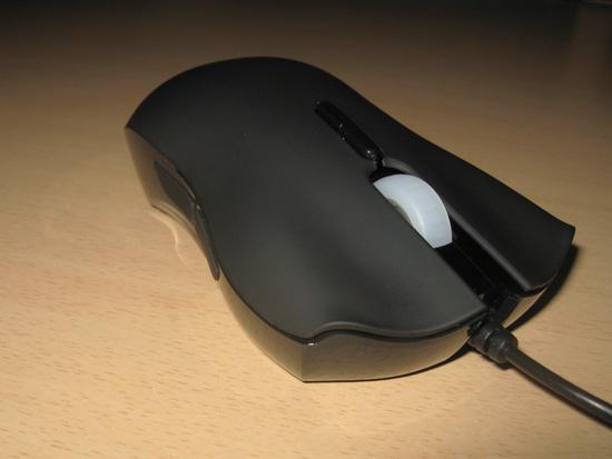 Вид справа на мышь Lachesis