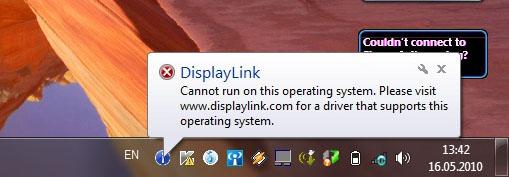 Уведомление о невозможности работы ПО в Windows 7