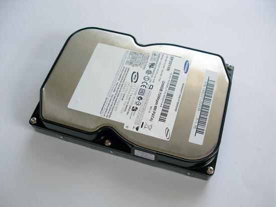 Подопытный жесткий диск от Samsung
