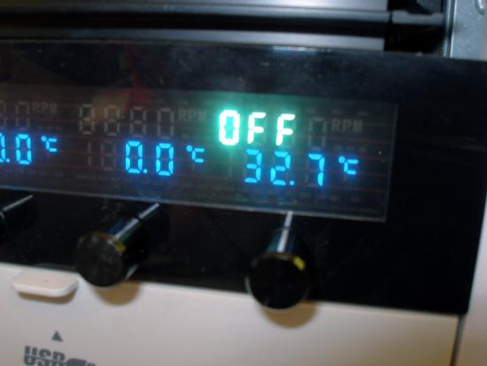 Реобас Scythe Kaze Master 5.25 для дополнительного измерения температуры