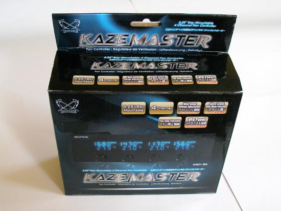 Упаковка Scythe Kaze Master 5.25, лицевая сторона