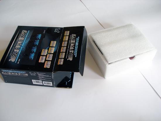 Открытие коробки с панелью управления