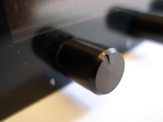 Алюминиевая ручка для регулировки