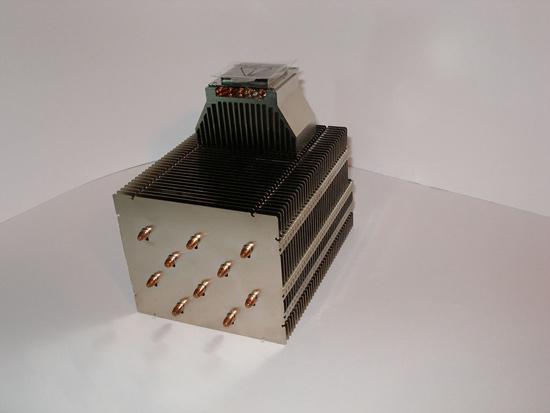 Вид на радиатор под другим углом