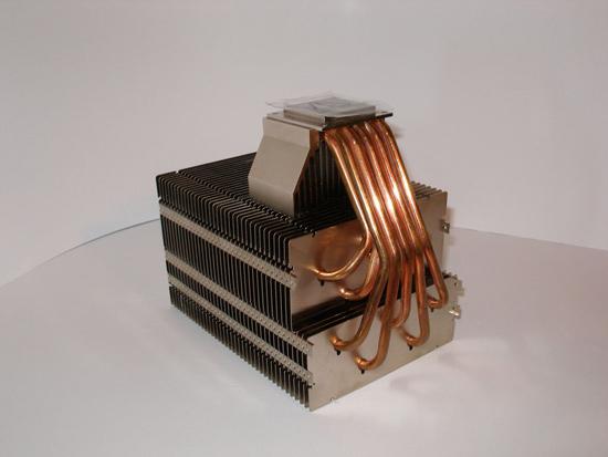 У радиатора Orochi множество тепловых трубок